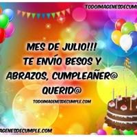 Imágenes de cumpleaños mes de Julio