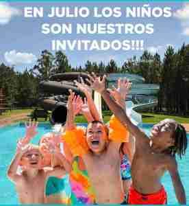 Niños Gratis en Horacio Quiroga Julio 2019