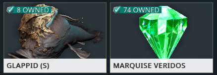 Fishes and Refined Gems trade