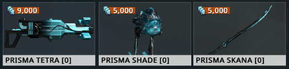 trade Prisma Weapons