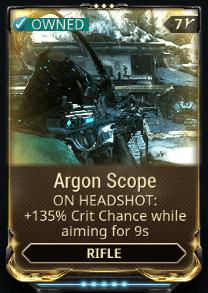 Argon Scope
