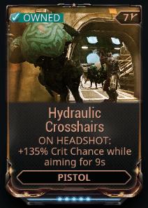 Hydraulic Crosshairs