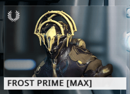 Warframe Frost Prime EN