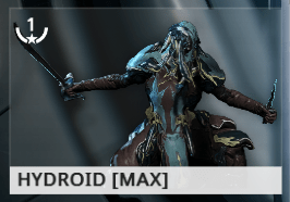 Warframe Hydroid EN