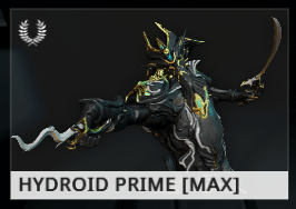 Warframe Hydroid Prime EN