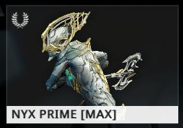 Warframe Nyx Prime ES
