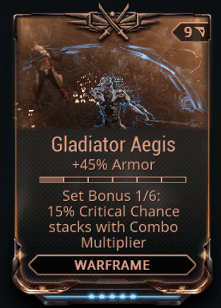 Gladiator Aegis 1-6 Mods Set