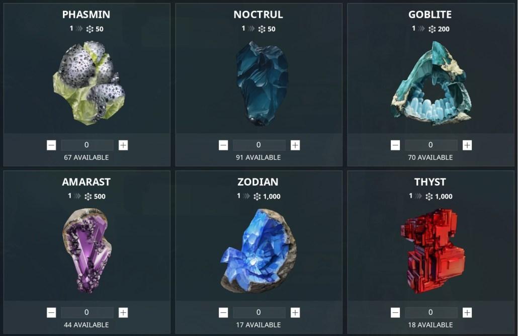 Mining Gems Solaris Standing
