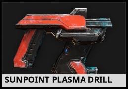 Sunpoint Plasma Drill mining tool