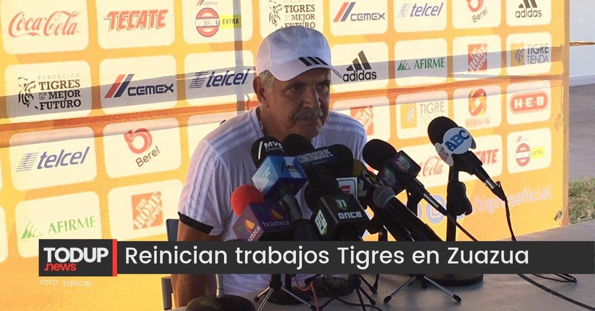 Se enfoca Tigres en el Campeón de Campeones