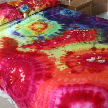 custom dyed bedding