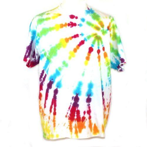 Loose fit tee - White Rainbow
