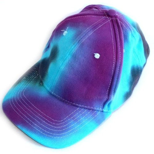 blues and purple cap