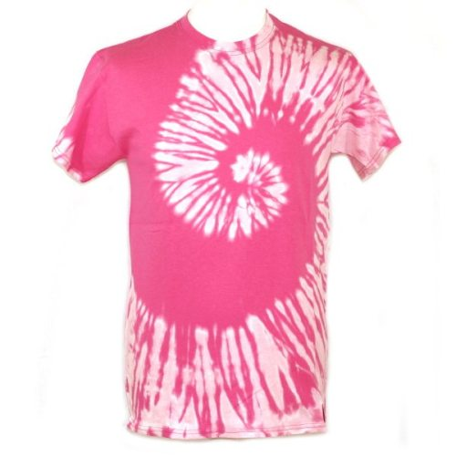 pink reverse dye swirl