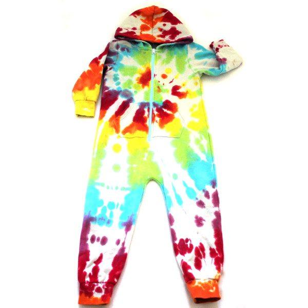 rainbow swirl onesie - custom dyed baby onesies