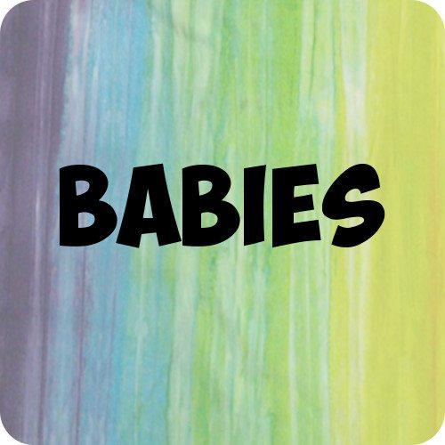 Custom Dyed Babywear