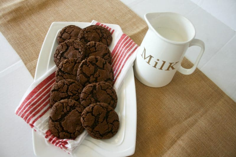 4 Ingredient Nutella Cookies