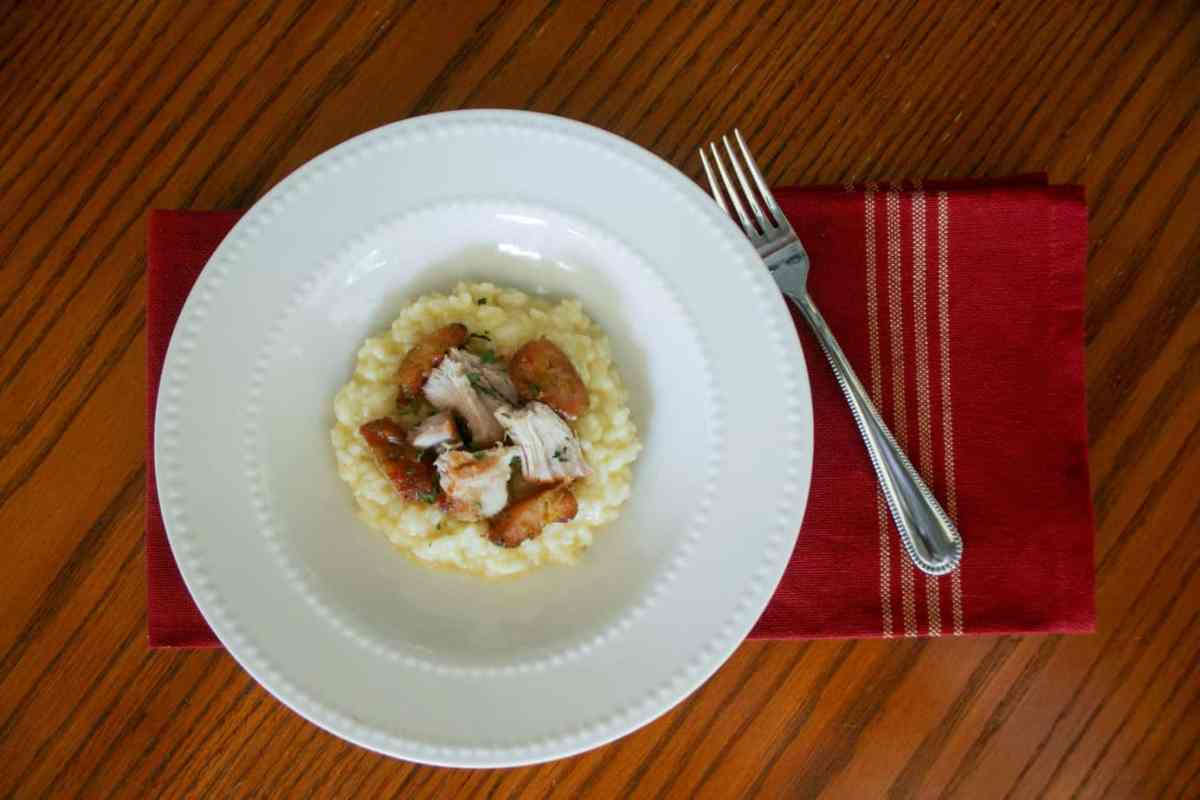 Parmesan Garlic Risotto