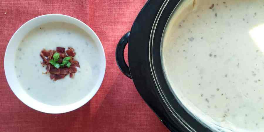 nestle slow cooker baked potato soup