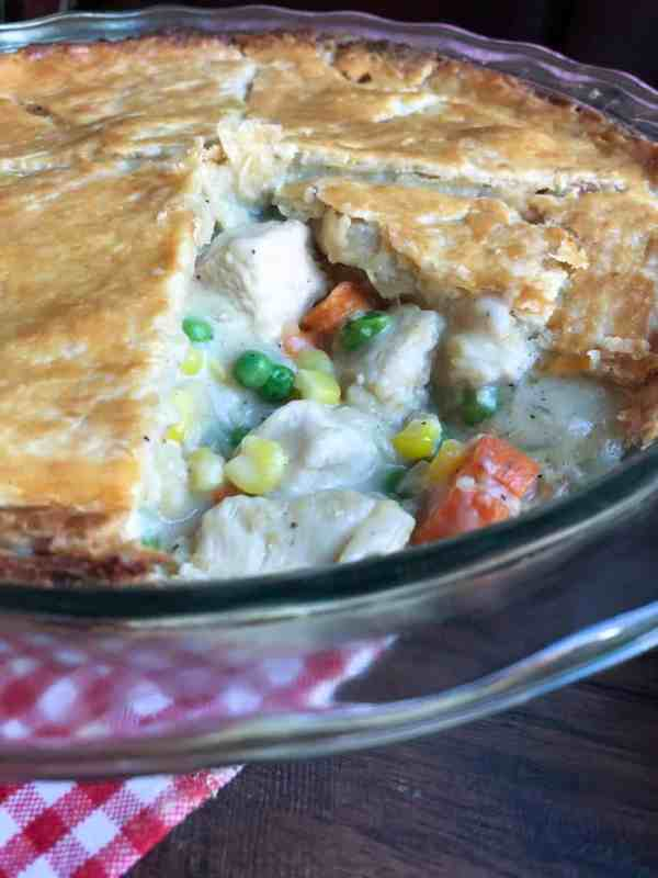 One Hour Chicken Pot Pie...Comfort food at it's finest!