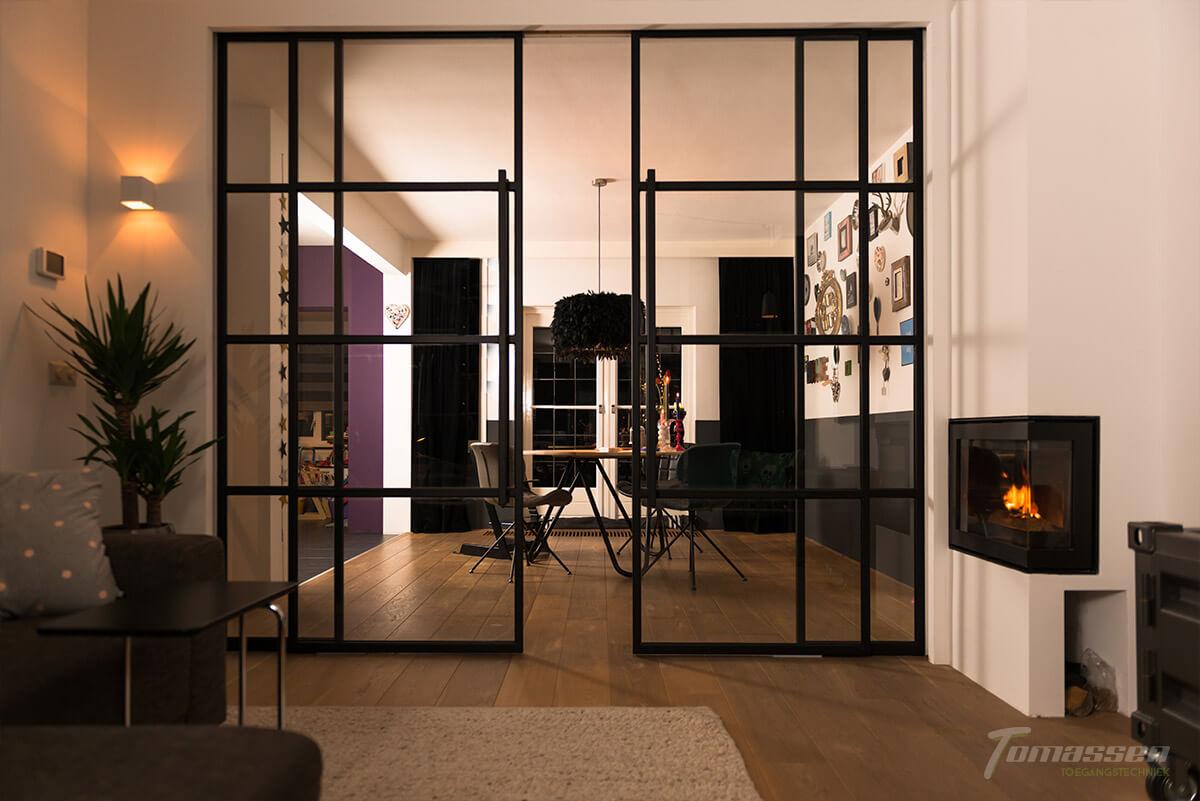Inspiratie: 7x een industriële stalen deur met glas