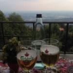 コモ湖にある山の上の絶景レストラン Locanda del Dolce Basilico
