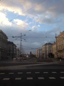 ウィーン早朝ラン