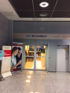 楽天プレミアムカード付帯のプライオリティパスで入れるラウンジは快適Sky Lounge@フランクフルト空港 第2ターミナル