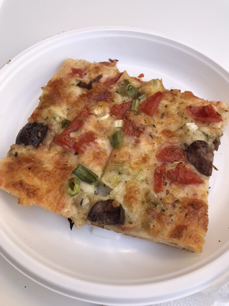 Da Cristina taormina 店舗ピザ