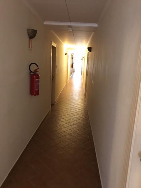 Hotel Garden vulcano2階廊下