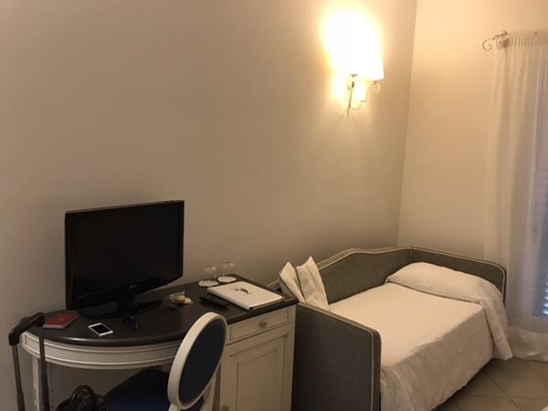 Hotel Mea 滞在記ソファーベッド