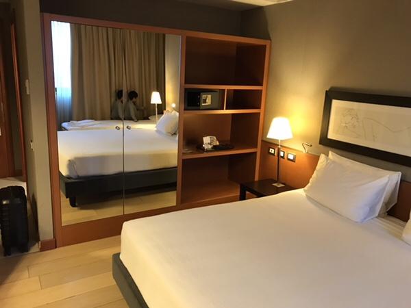 Hotel NH Linate滞在記
