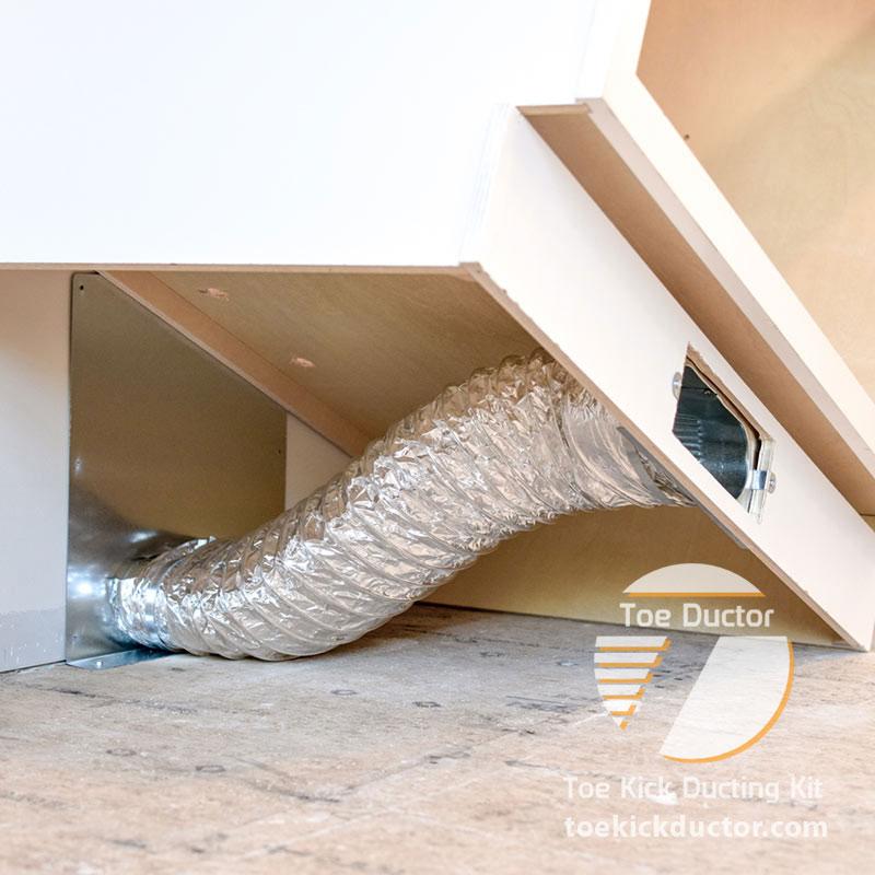 Toe Ductor Wall Vent Kits Toe Kick Ductor