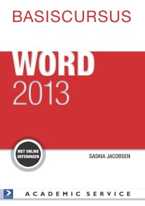 Boek Basiscursus Office Word 2013