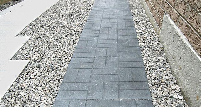 patio stone builder grade