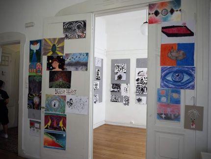 Ετήσια έκθεση ζωγραφικής και comic παιδιών