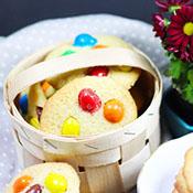 Cookies mit M&Ms