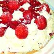 Johannisbeer Erdbeer Torte