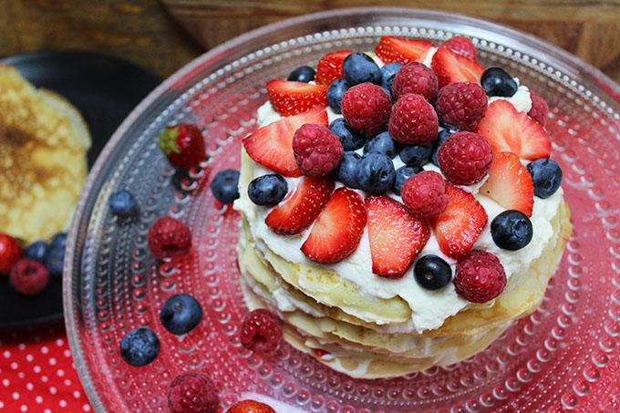 Schwedische Pannkaka Tårta