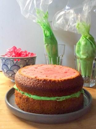 Flamingo Torte