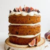 Walnuss Feige Torte