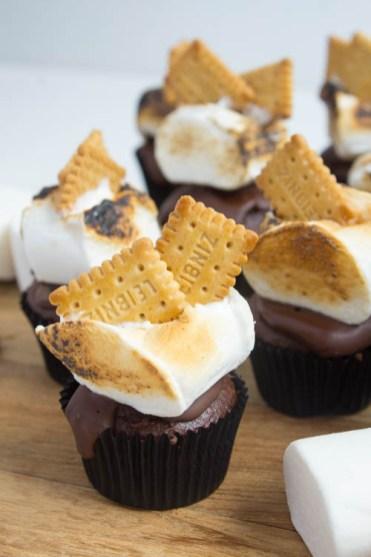 Cupcakes smores -2594