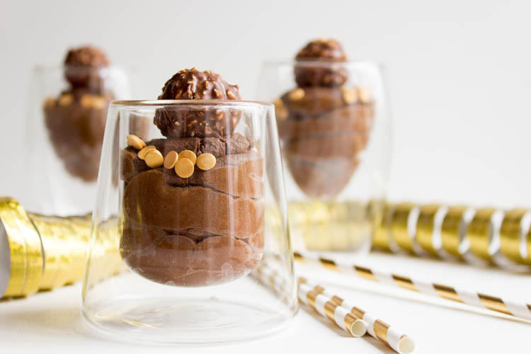 Schokomousse Dessert