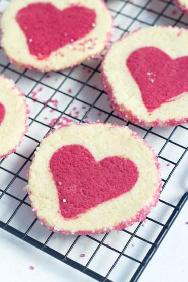 Liebeskekse zum Valentinstag