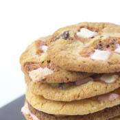 Rezept Cookies Marshmallows Schokolade