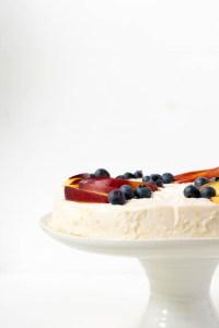 Rezept No Bake Cake Pfirsich