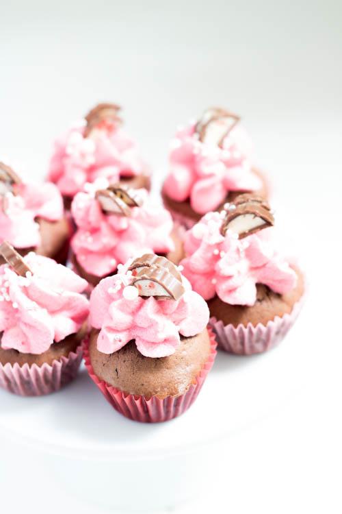 Rezept Mini Schoko Cupcakes Yogurette