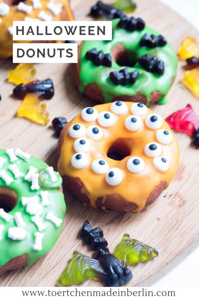 Rezept Halloween Donuts