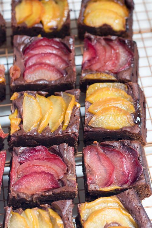 Rezept Brownies mit Pflaumen