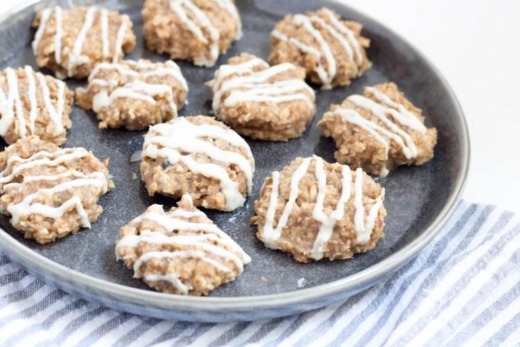 Rezept Erdnusscreme-Haferflocken-Kekse